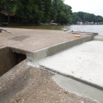 Silver Lake PA Spillway Maintenance